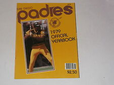 1979 SAN DIEGO PADRES BASEBALL YEARBOOK WINFIELD OZZIE SMITH PERRY FINGERS
