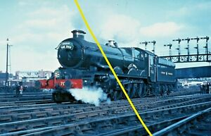 CASTLE CLASS 7029 at Chester c1967 Railway Slide GM37