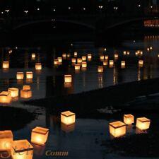 10 Floating Water Lanterns Lantern & Candle Tea Lights Garden Wedding