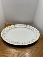 "Imperial China by W Dalton ""Wildflower 745"" 14"" OVAL SERVING PLATTER, Japan"
