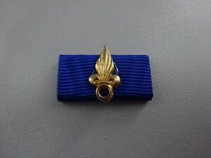A24-5  Frankreich Fremden-Legion Ordensspange  (D-Format) blau