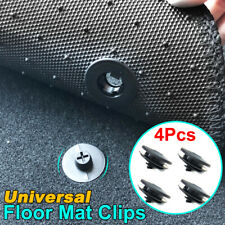 4pcs Universal Car Floor Mat Fixing Clips Clamps Holders Anti-Skid Fastener