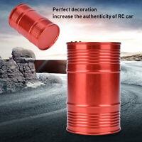 RC Car Fuel Drum Container Barrel Gas Tank for 1/10 Axial SCX10 Upgrade Parts