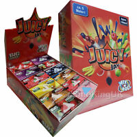 24 Juicy Jays Rolls Mix N Roll King Size Rolling Papers - Mixed Flavours Box