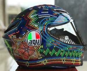 Motorcycle Full Face Helmet AGV Pista GP RR Mugello Helmet Model Design ABS