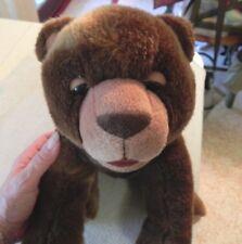 Eric Carle Brown Bear Plush Stuffed Toy Kohl's Cares for Kids Soft Sleepy Eyes