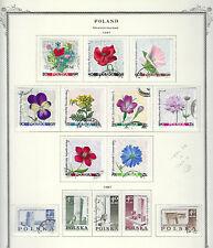 Poland.#1485-89 & 1522-30.Cto.1967.14 Diff Commemoratives