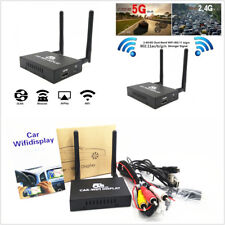 Car WiFi Display 2.4G+5G Wireless Airplay System Mirror Link Box With HDMI USB