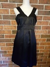 CUE  Black DRESS with Bow Feature Size 12