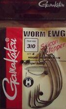 Hameçon Texan Gamakatsu Worm EWG silicon stopper 3/0