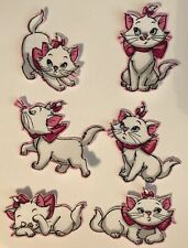 Prissy Kitty Cats - Iron On Fabric Appliques