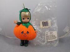 2007 OCTOBER Precious Moments MONTHLY MOMENT Vinyl Doll Halloween Pumpkin