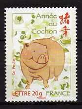 France : 2007 Yvert 4001 ANNÉE DU COCHON  Neuf ( MNH )