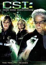 CSI Complete Twelfth Season 0097368227545 With Ted Danson DVD Region 1