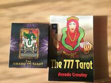 777 Tarot Cards & Book by Amado Crowley
