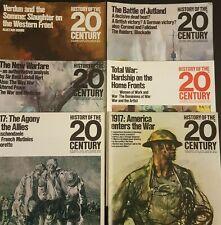 History Of The 20th Century -6 Magazine No 20,21,23,24,26,27