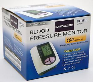 NEW Easy Health MD BP-510 Automatic Blood Pressure Monitor Digital Medical pulse