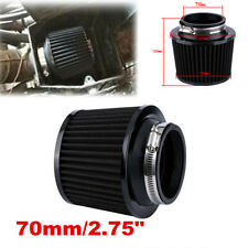Black Universal 2.75'' Air Intake Cone Filter 70mm Car/Truck/SUV Accessories