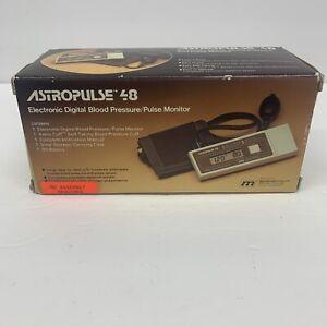 Marshall ASTROPULSE 48 Digital Blood Pressure/Pulse Monitor New In Box Works