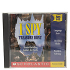 I Spy Treasure Hunt Pc Mac Computer Video Game Cd-rom  Manual Win95 98 2000 Vg