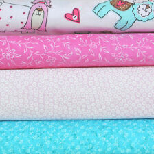 Pink Pooches, 4 half yard cuts, 100% cotton fabric