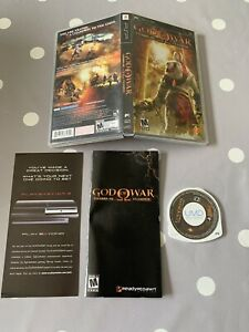 GOD OF WAR CHAINS OF OLYMPUS - SONY PSP GAME