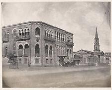 c.1860's PHOTO INDIA MADRAS OFFICE BUILDING?