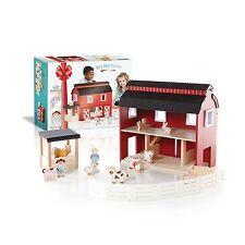 "Guidecraft Big Red Barn G99100 Kids Toy 21"" x 8.5"" x 16"" NEW"