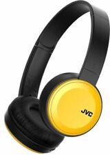 JVC HA-S30BT-Y-E Bluetooth On-Ear-Kopfhöhrer mit kompakter, faltbarer Bauweise