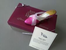 """Just The Right Shoe - """"Elegant Affair""""- With Coa & Box - Free Shipping"""