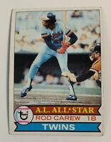 1979 Rod Carew # 300 Minnesota Twins Topps Baseball Card HOF