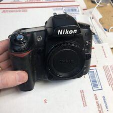 Nice Nikon D80 10.2MP Digital SLR Camera body Only no  lens