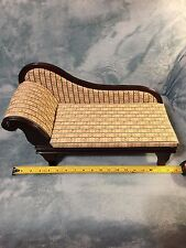 Chaise Lounge Chair  Vintage Antique Style Fainting Sofa Couch Furniture