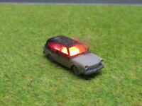 Spur N TT VW Variant Kombi Vollbrand Brennend 12V LED Feuer Laser Cut 1:160 #27