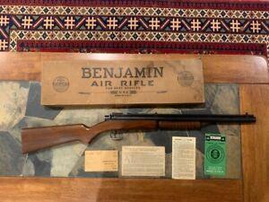 Benjamin Franklin Model 317 .177 cal Pellet Rifle  - Original box + papers