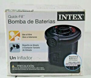 Intex Quick Fill 06C Air Mattress Pump Portable Battery Opera Model AP638