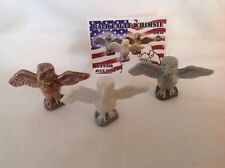 Wade American Bald Eagle 3 Piece Set July Wade Fair Limited To 100