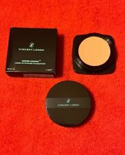 Vincent Longo Water Canvas Creme To Powder Foundation Natural Tan #9 New In Box