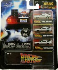 Jada Toys  Back to The Future Time Machine Delorean Diecast Car - 31583