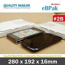 200x Letter Mailing Boxes 220x160x16mm Diecut C5 Bx1 Mailer Flat Envelope Cb31