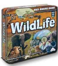 *NEW IN EMBOSSED COLLECTORS TIN* The Wildlife Adventure DVD Board Game