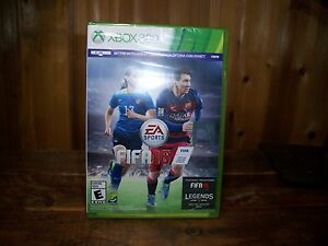 XBOX 360 FIFA16 ONLINE INTERACTIVE VIDEO GAME NEW SPORTS FOOTBALL SOCCER NEW