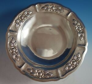 Aztec Rose by Maciel Mexican Mexico Sterling Silver Fruit Bowl #15466/9 (#1785)