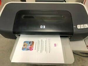 HP Deskjet 9680 c8139a Wide-Format  Color Inkjet Printer -Working!