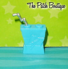 ✿ MONSTER HIGH FRANKIE DOLL MIRROR BED REPLACEMENT BLUE JUICE BOX DRINK ONLY ✿