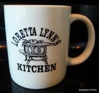 Loretta Lynn's Kitchen Coffee Mug Vintage Hurricane Mills Tennessee Souvenir