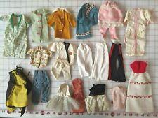 Lot of 30+ Vintage Fashion Doll Barbie Handmade Original Clothes Accessories