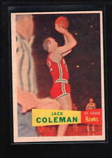 1957-58 TOPPS #70 JACK COLEMAN NM F2495