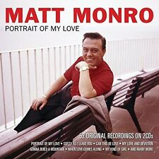 Matt Monro Portrait Of My Love 2 CD Set Softly as I Leave you, Can this be love