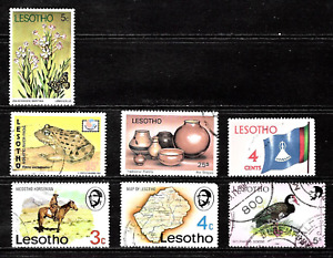 Lesotho .. Good stamps .. 4234